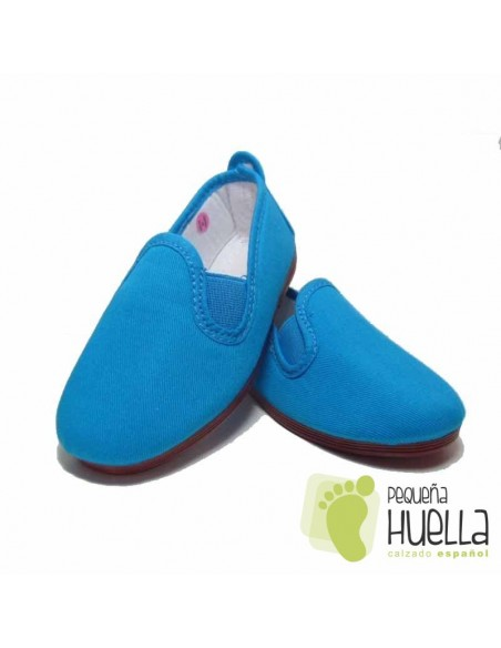 Zapatillas Kung fu Azul Turquesa