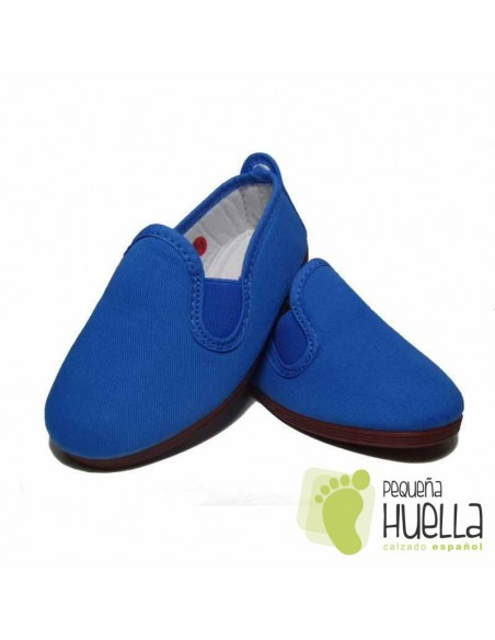 Zapatillas Kung fu Azul Royal