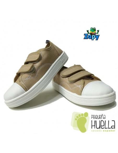 Zapatillas Lona Camel Zapy