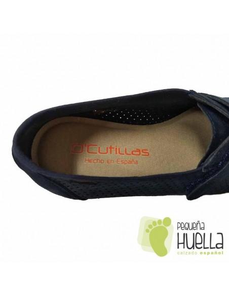 Zapatos Azules Cómodos Doctor Cutillas 3176