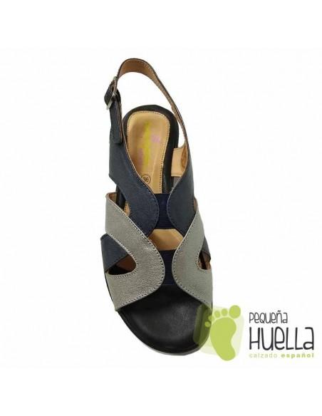 Sandalias Azules Anatómicas Mujer Doctor Cutillas 33855