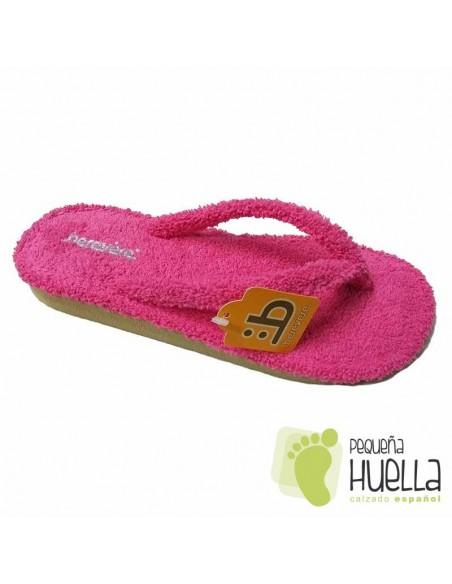 Zapatillas de casa Rosa Fucsia Berevere 9301