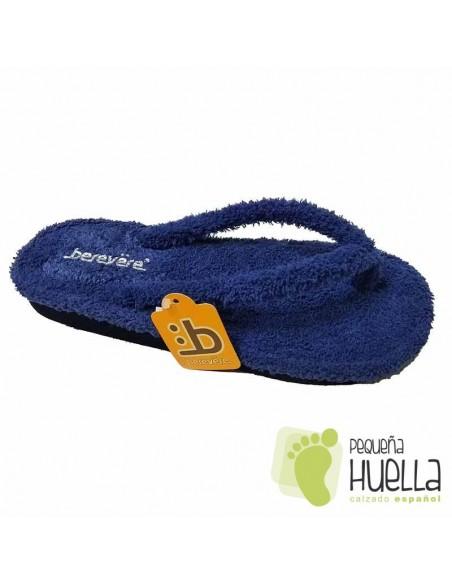 Zapatillas de casa Azules Berevere 9301