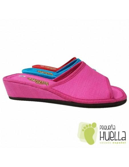 Zapatillas Chinelas de chica con cuña Vanity 360