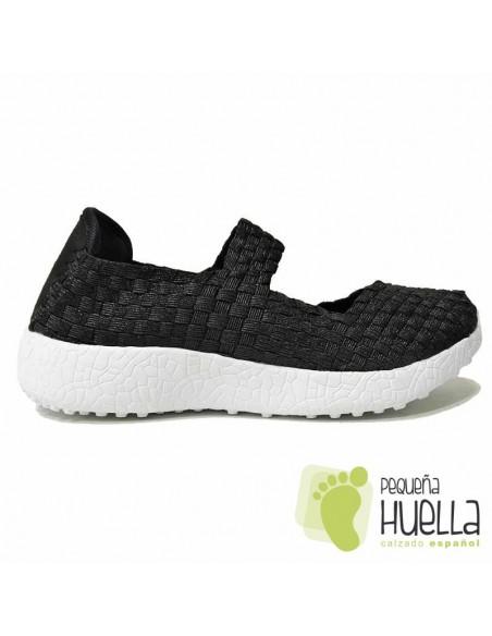 Zapatos Negros Mujer Doctor Flex