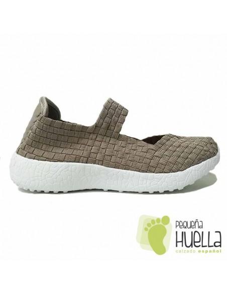 Zapatos Beige Mujer Doctor Flex