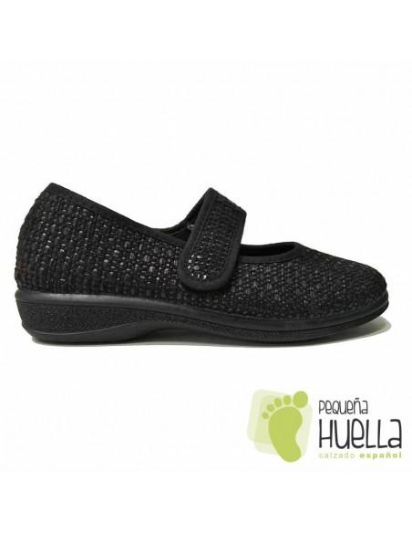 Zapatos Negros Mujer Cómodos J. Ortega