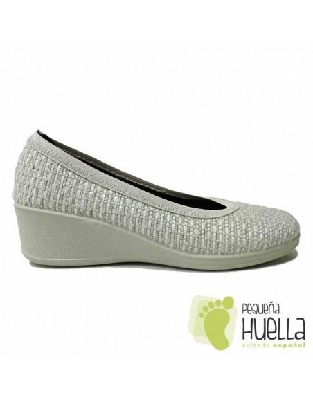 Zapatos Salón Grises Mujer Cómodos J. Ortega
