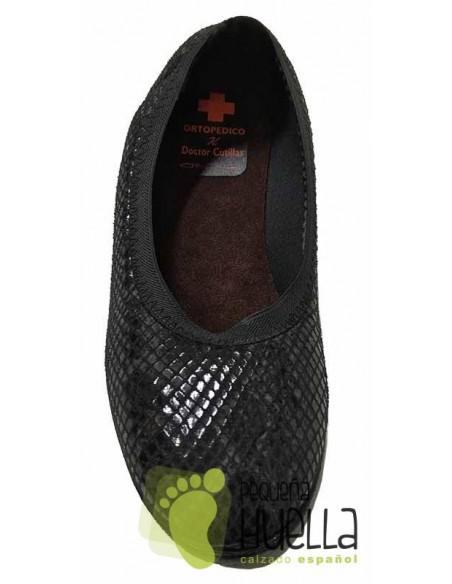 Doctor Cutillas Zapatillas de licra extra blanda serpiente