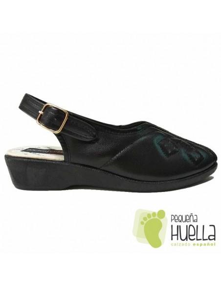 Sandalias Señora Negras
