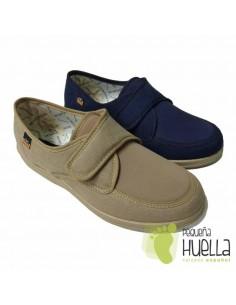 Zapatillas de tela con velcro Doctor Cutillas 21300