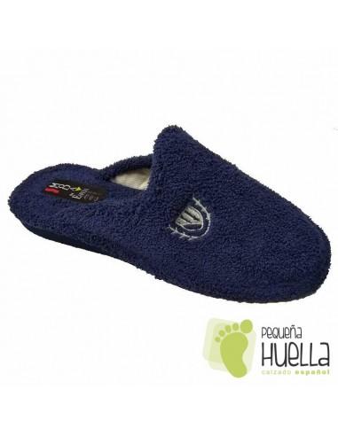 Zapatillas Hombre Rizo Toalla para Casa Berevere