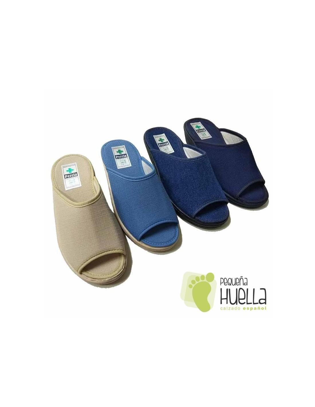 f277448b188 Comprar Zuecos - Zapatillas de casa abiertas para mujer | La Percla