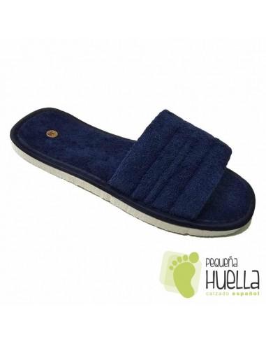 Zapatillas casa toalla rizo de algodón para hombre y mujer