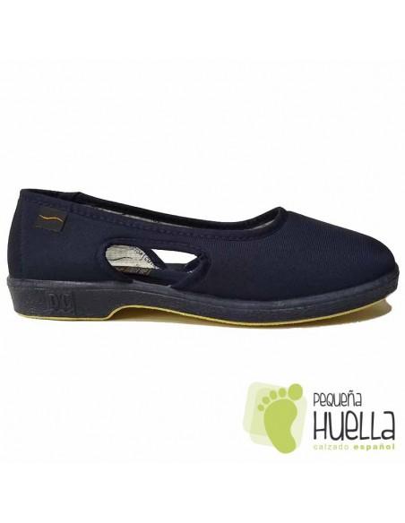 Zapatillas Azul Marino Señora Doctor Cutillas 414