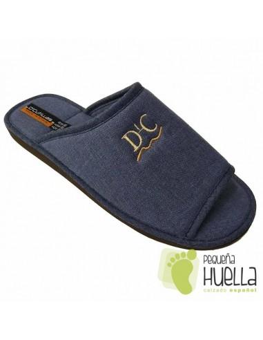 Zapatillas de lino para Casa hombre Doctor Cutillas 12251