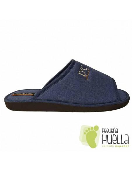 Zapatillas de lino para Casa señor Doctor Cutillas 12251