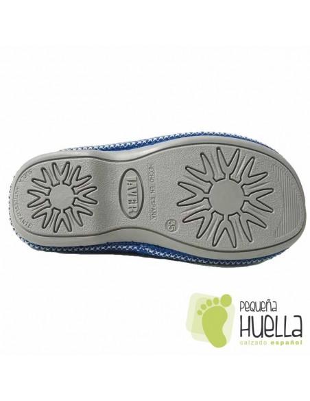 Zapatillas de gel relax para Chicas Javer Azules