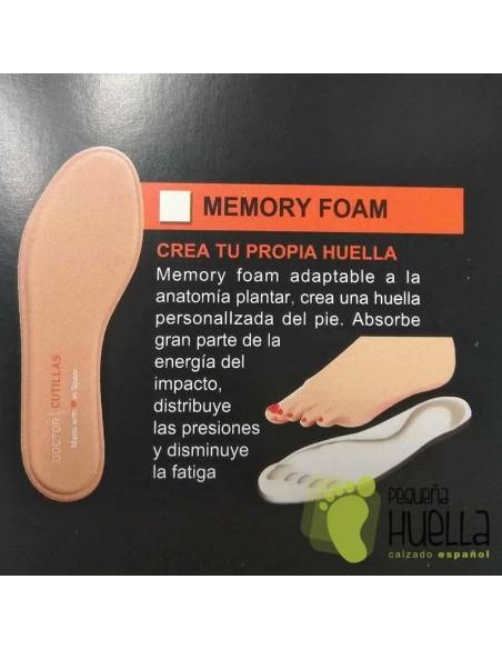 Plantillas Memory Foam Doctor Cutillas