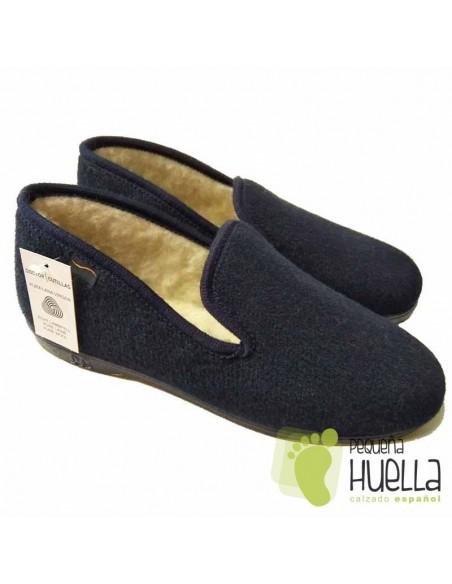 Zapatillas de casa de Lana Hombre Doctor Cutillas 182