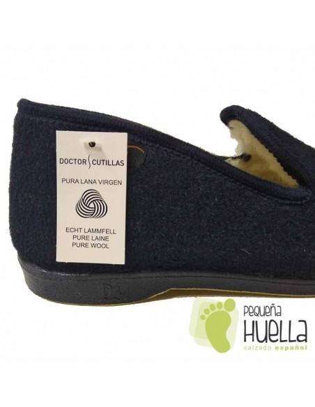 Zapatillas calentitas de casa Caballero Doctor Cutillas 182