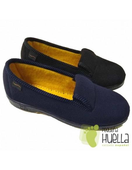 Zapatillas paño de casa mujeres Doctor Cutillas 472
