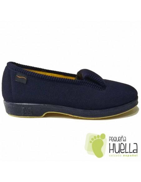 Zapatillas Casa Azules Señora Mayor Doctor Cutillas 472