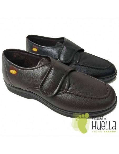 Zapatillas Caballero con velcro Doctor Cutillas 21296
