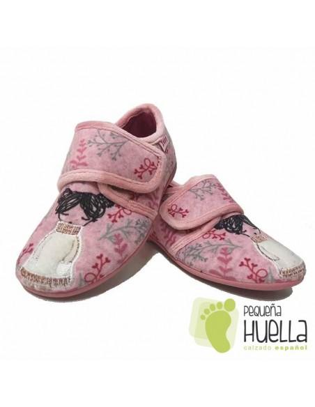 Zapatillas Niña Casa Muñeca Invierno Zapy