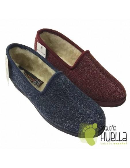 Zapatillas de lana para Casa de señora 9454 DOCTOR CUTILLAS