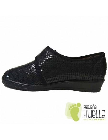 Zapatillas Señora de licra extra blanda JAVER