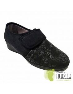 Zapatillas Licra con Velcro, Muyter
