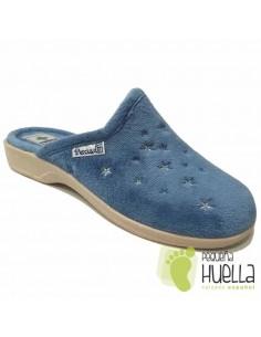 Zapatillas Casa Anatómicas de Mujer / LA PERCLA
