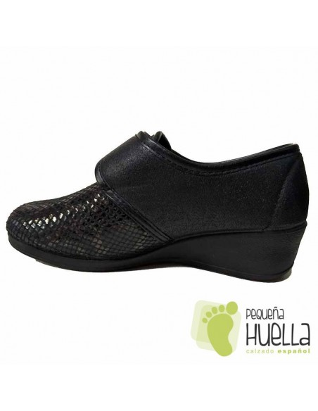 Zapatillas señora  Licra con Velcro, J Ortega 1861