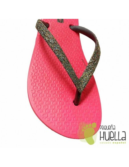 Ipanema chanclas rosas chicas