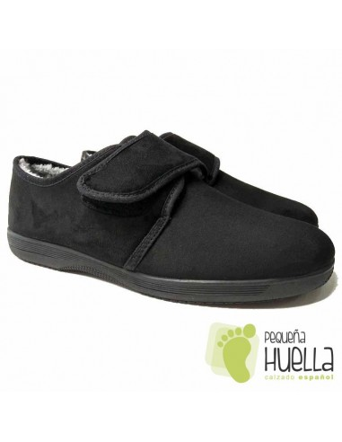 Zapatillas señores mayores negras