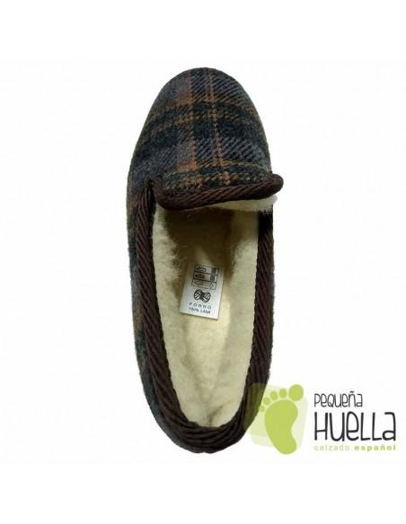Zapatillas calentitas para invierno de hombre Cruan