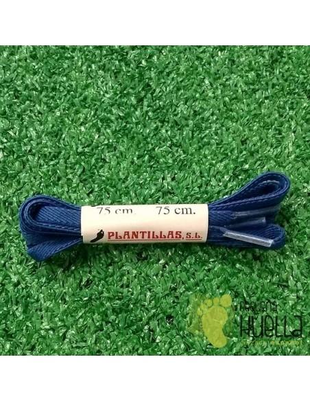 cordones azul Francia elásticos 75 cm