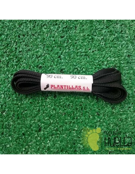 cordones negros elásticos 90 cm