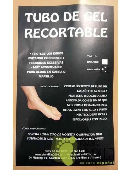 Protector de gel para los dedos del pie
