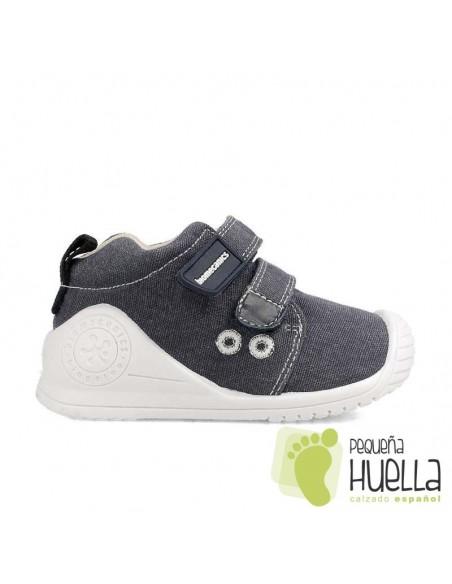 Zapatillas niños azules Biomecanics 202210