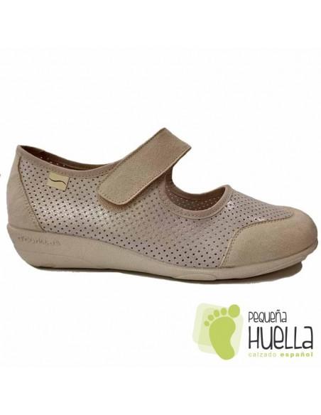 Zapatos crudo Mujer cómodos 3175