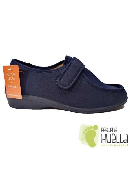 Zapatillas Anchas de Señora para el verano Doctor Cutillas 706