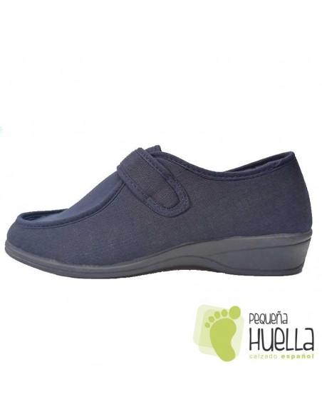 Zapatillas horma ancha de mujer para el verano Doctor Cutillas 706