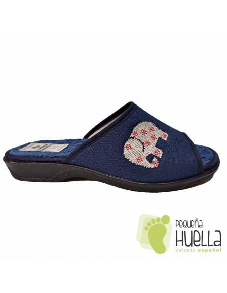 Zapatillas de Casa toalla rizo de verano de Mujer / PERCLA