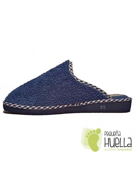 Zapatillas toalla rizo de verano chica Berevëre