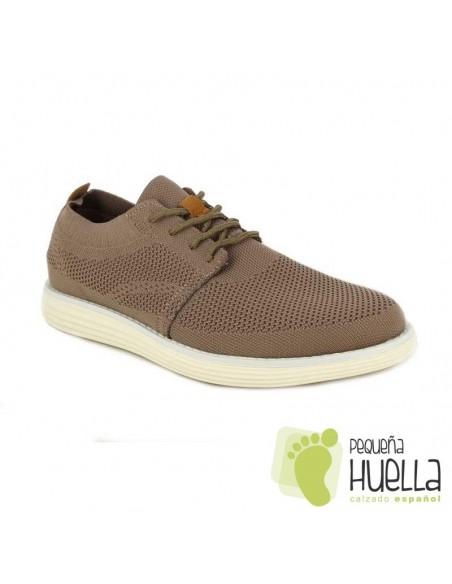 Zapatillas marrones de caballero Doctor Cutillas 34101