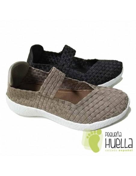 Zapatos tela elástica muy cómodos señor Dr  Cutillas 13601
