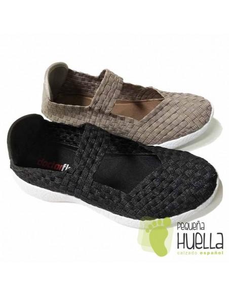 Zapato de verano cómodos para señoras Dr. Cutillas 13601