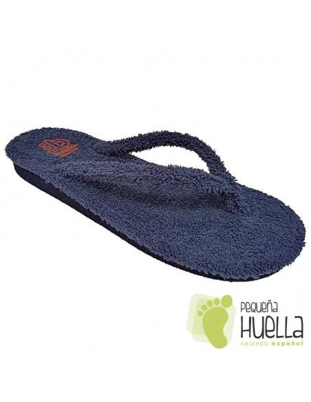 Zapatillas rizo español de dedo para chico Berevere V9120